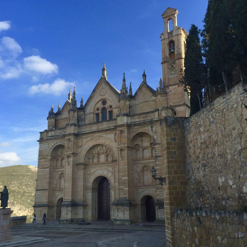 Een van de vele kerken van Antequerra