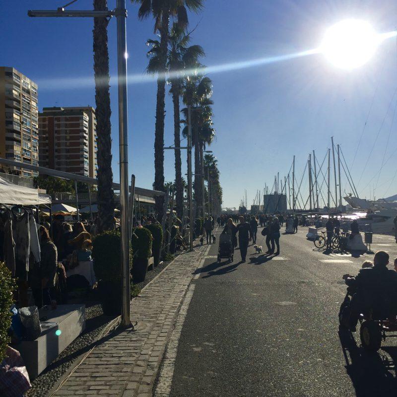 Boulevard in Malaga