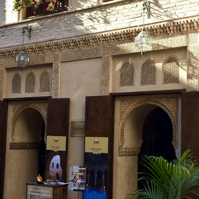 Marrokkaans badderen in Malaga