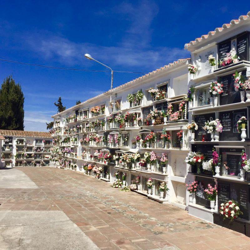 Begraafplaats in Comares