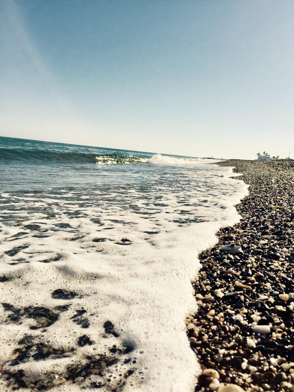 Strand bij Torre del Mar