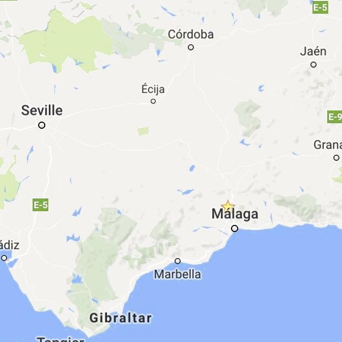 Centraal gelegen bij Malaga, Granada, Cordoba en Sevilla