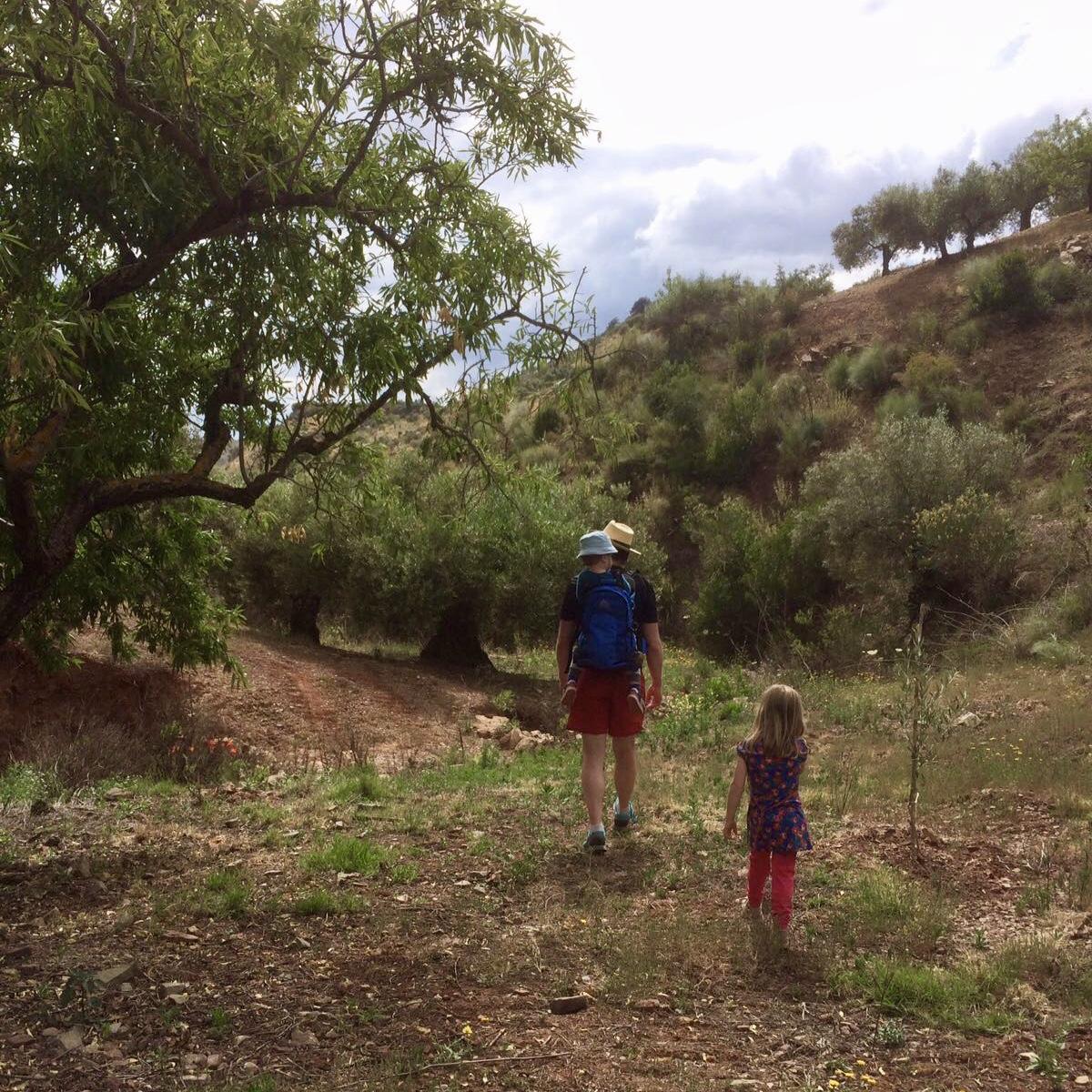 Heerlijk wandelen in de mooie natuur