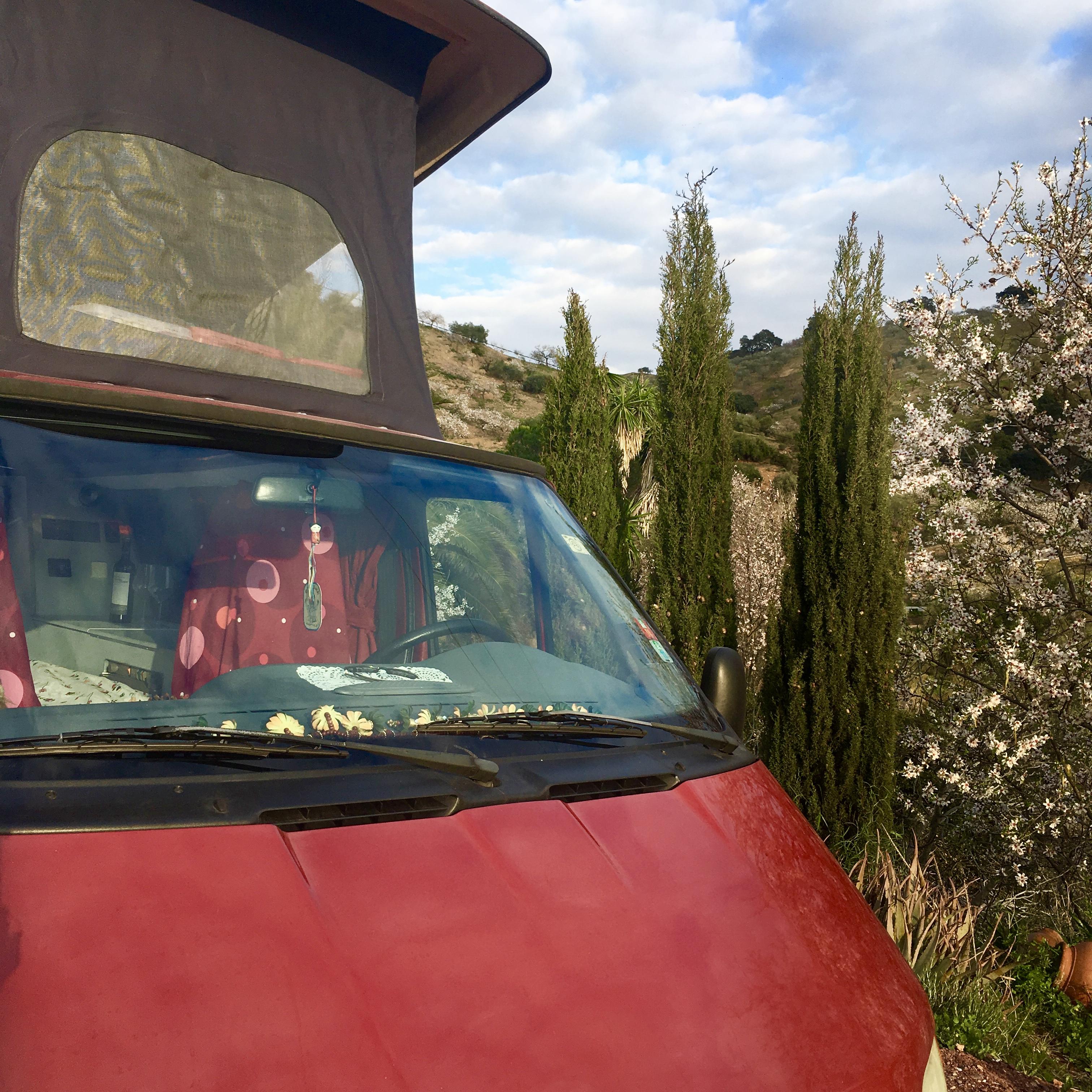 Camper huren in Andalusie